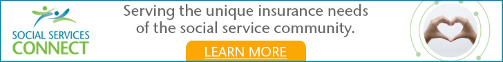 Sponsored by: Aon Affinity. Serving the unique insurance needs of the social service community. Click here for more information.