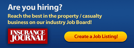Are you Hiring? Post your job opening on Insurance Journal's Job Board!