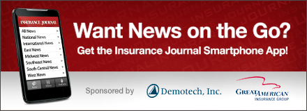 Sponsored by: Great American Insurance Group and Demotech. Want News on the Go? Insurance Journal now available on the iPhone and Android - Download it free today! Click here for more information.