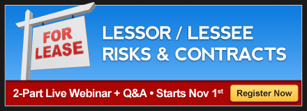 leases and contracts 2-part live webinar series from Academy of Insurance