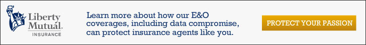 Learn more about how our E and O coverages, including data compromise, can protect insurance agents like you. Click To Learn More.