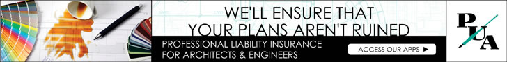 Sponsored by: NSM Insurance Group. We'll Ensure That Your Plans Aren't Ruined. Professional Liability Insurance for Architects and Engineers. Click here for more information.
