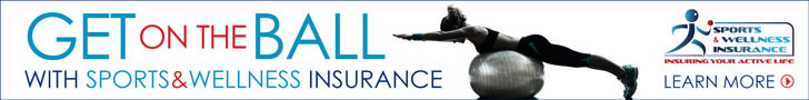 Sponsored by: NSM Insurance Group. Get on the Ball With a Sports and Wellness Insurance. Click here for more information.