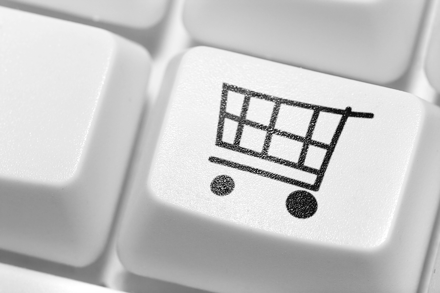 shopping cart keyboard button