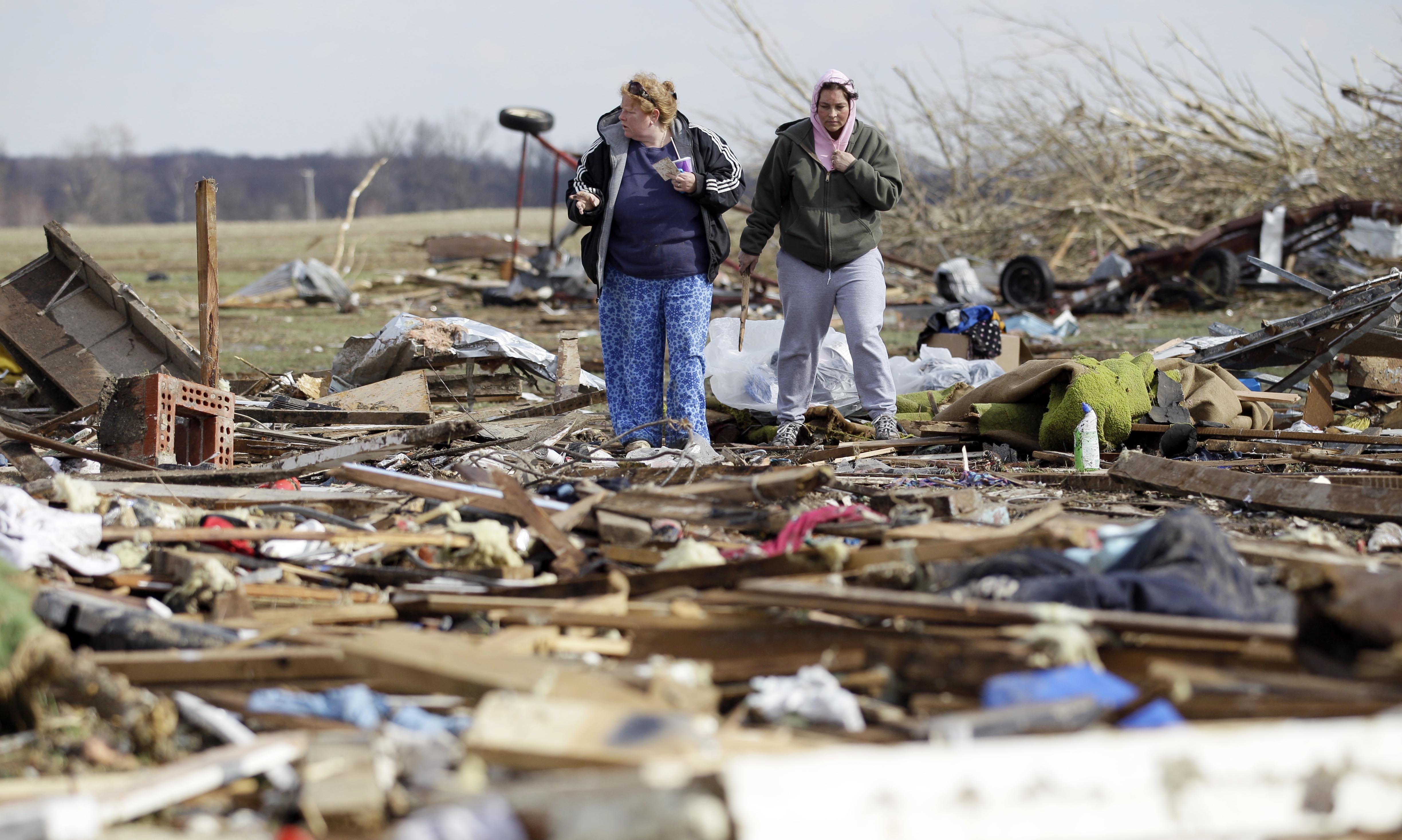 Death Toll Damage Mount From Tornadoes In Midwest South