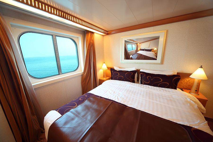 double bed cruise ship