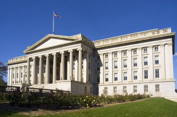 Treasury Department building
