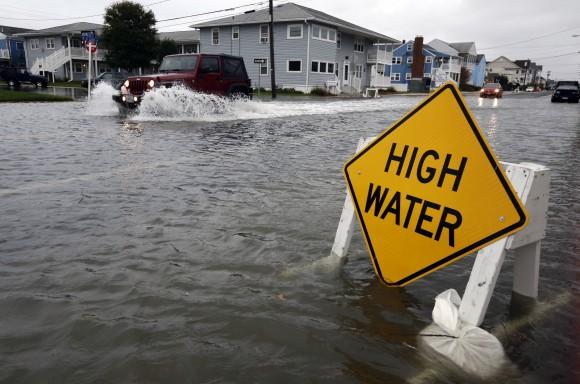 Hurricane Sandy Ocean City, Md. (AP Photo/Alex Brandon)