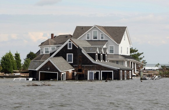 Sandy flood NJ