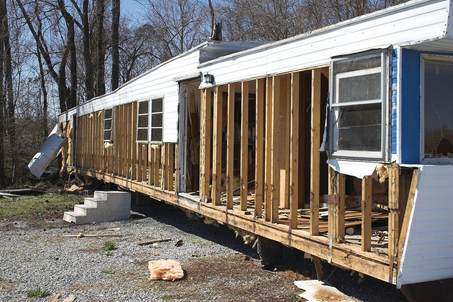 Report: Growth of Mobile Home Parks Increasing Tornado Risk