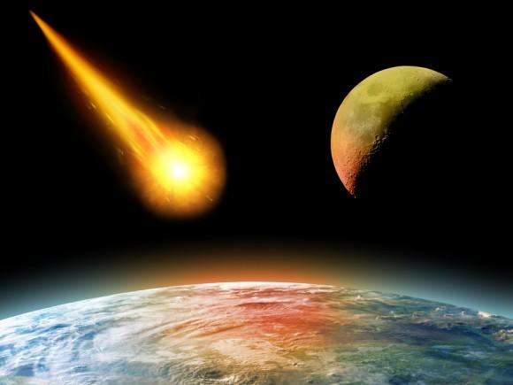 asteroid hitting the sun - photo #41