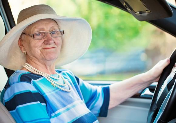 senior driver