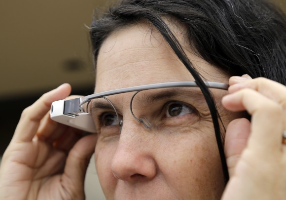 Google Glasses AP Photo