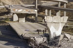 Northridge Earthquake, 1994 (AP Photo)