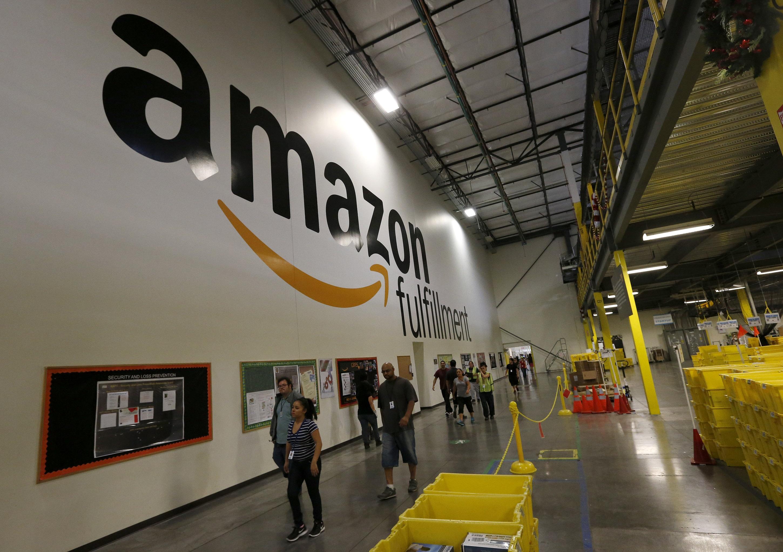 New Amazon Building In Nj