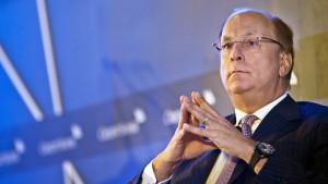 BlackRock CEO Laurence Fink  (Sam Kang Li Photo/Bloomberg)
