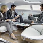 Mercedes-Benz autonomous car F 015 interior