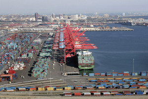 Port of Long Beach's Pier T.  Photo Courtesy of the Port of Long Beach.