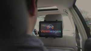 Viewswagen Inc., set to launch in mid-April, will begin placing advertising on tablets in Uber cars around Minneapolis, Minn.