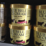Blue Bell ice cream on a store shelf. (AP Photo/Orlin Wagner, File)