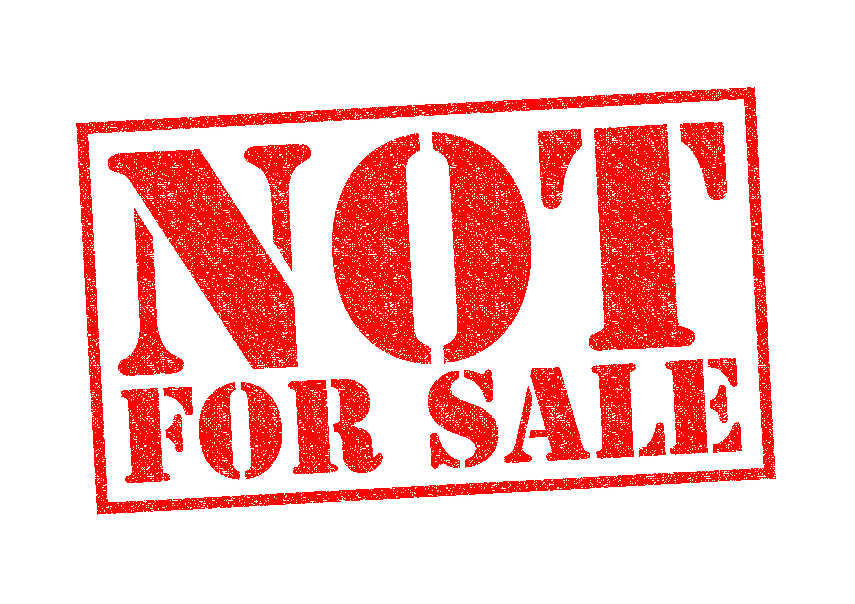 Not For Sale - Selling Your Agency May Be Hazardous To Your Financial