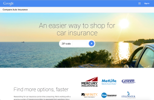 Google launched its auto insurance comparison tool in March