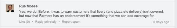 LinkedIn Group Screenshot Moses