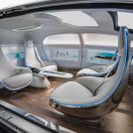 Mercedes Benz F015 Concept Car Interior