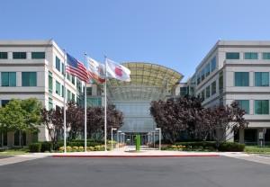 Apple's headquarters in Cupertino, Calif. Photo by Joe Ravi, C-BY-SA 3.0.