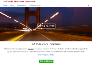 Patricia Ortiz, a Farmers agent in Elk Grove, commissioned a website, rideshare-insurance.com, to get the word out that she's selling a new ridesharing endorsement.