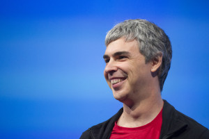 Larry Page, co-founder, CEO at Google Inc. Bloomberg Photo by David Paul Morris