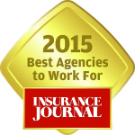 Best Agencies to Work For 2015 Gold