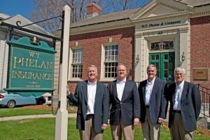WT Phelan & Co. principals, from L-R: Robert J. Ramsey, David L. Ramsey, Thomas M. Ramsey and Richard R. Ramsey.