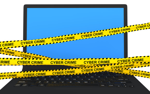cyber crime ribbons