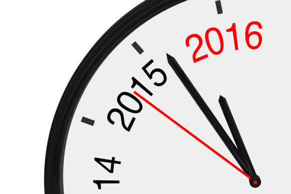 2016 Is Approaching Clock