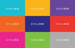 Chubb loogo colors