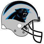 Carolina Panthers helmet