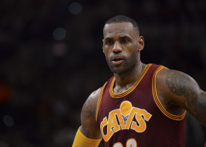 LeBron James   (AP Photo/Darren Abate)