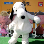 "Snoopy at the ""The Peanuts Movie"" Los Angeles Premiere at the Village Theater on November 1, 2015 in Westwood, Calif."