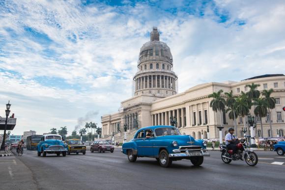 Capitolio landmark in Havana, Cuba