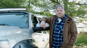 """Woodsy"" Patriot moving to Canada in Esurance Election Insurance Ad"