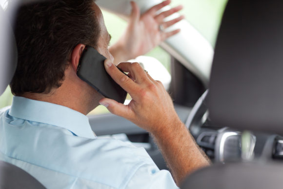 An experiment on the performance of drivers who are talking on the cell phone while driving
