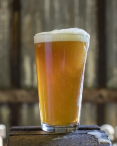 Here's another picture of the climate friendly beer in case you really like beer pictures. Photo by Tim Davis