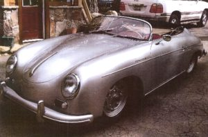 This 1955 Porche 356 Speedster was at the center of an alleged insurance fraud scheme.