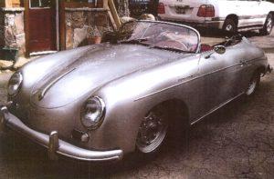 This 1955 Porche 356 Speedster was at the center of an alleged insurance fraud scheme.