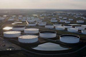 Cushing, Oklahoma oil trading hub. Bloomberg photo