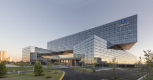 Zurich North America's headquarters in Schaumburg, Ill., earned the U.S. Green Building Council's LEED Platinum rating. James Steinkamp Photography