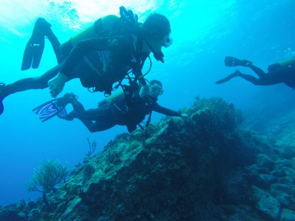 Scuba diving is an activity that's familiar to many in special operations forces.