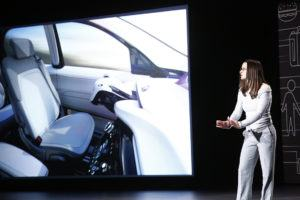 FCA autonomous vehicle technology at CES 2017 in Las Vegas