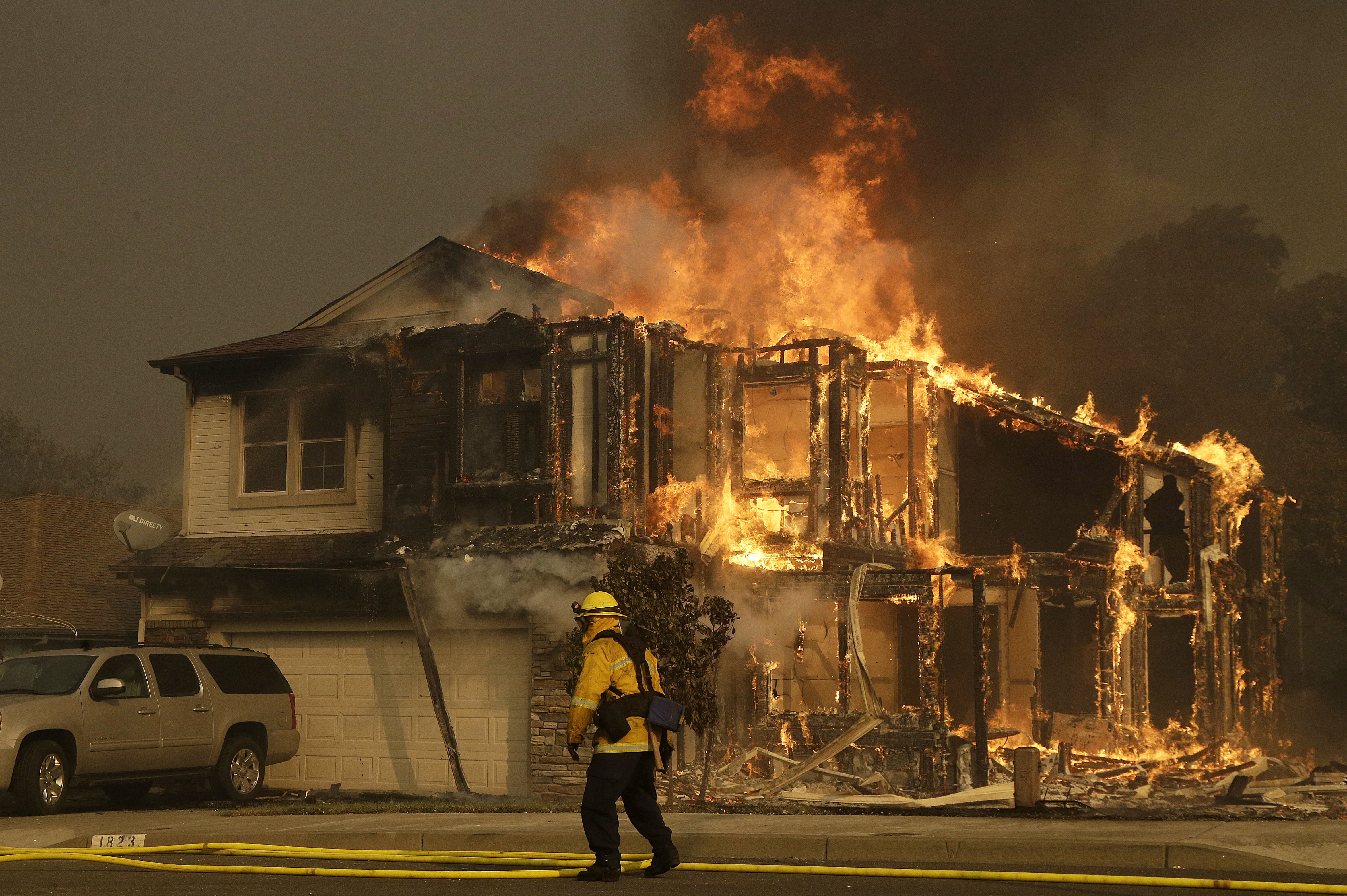 Cal Fire: California Wildfires Have Destroyed 3,500 ...